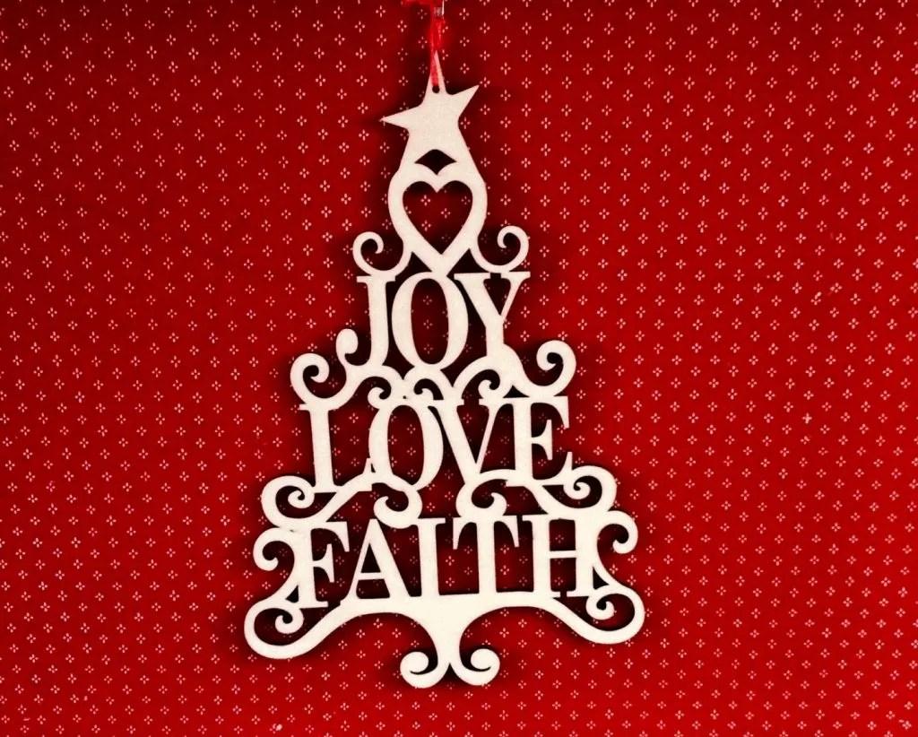 love joy faith