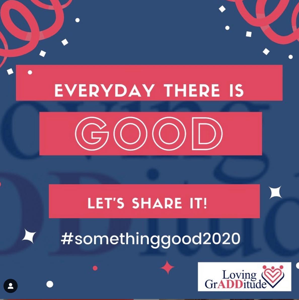 #somethinggood2020