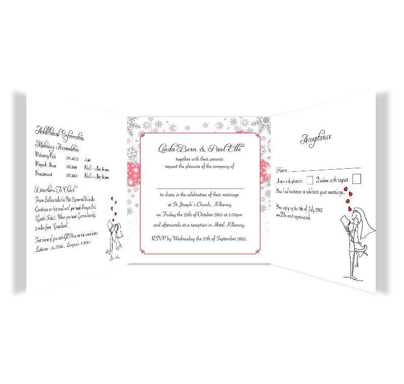 Trifold Wedding Invitations