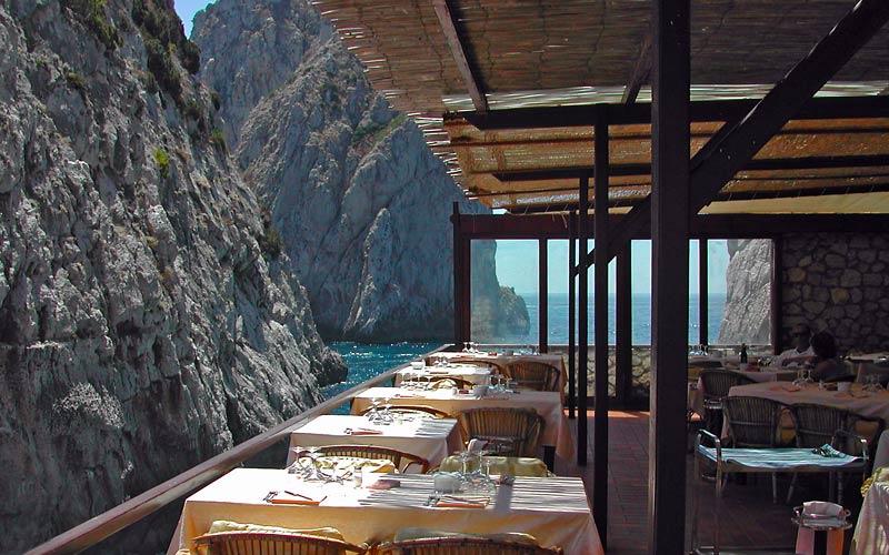 Lidi Aperitivi Ristoranti e Serate a Capri  aperitivo