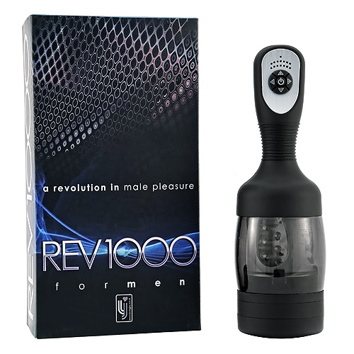REV1000 Rotating Male Masturbator with Box