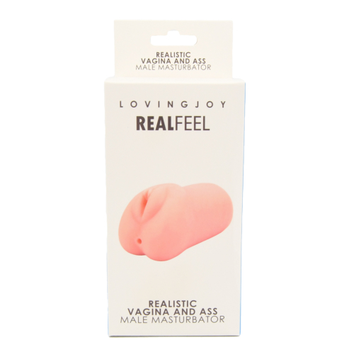 Loving Joy Realistic Male Masturbator with Vagina and Anus Orifice Packaging