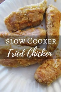 Slow Cooker Fried Chicken