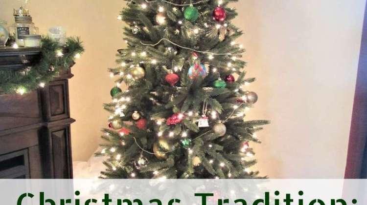 Christmas Tradition: Christmas Decor