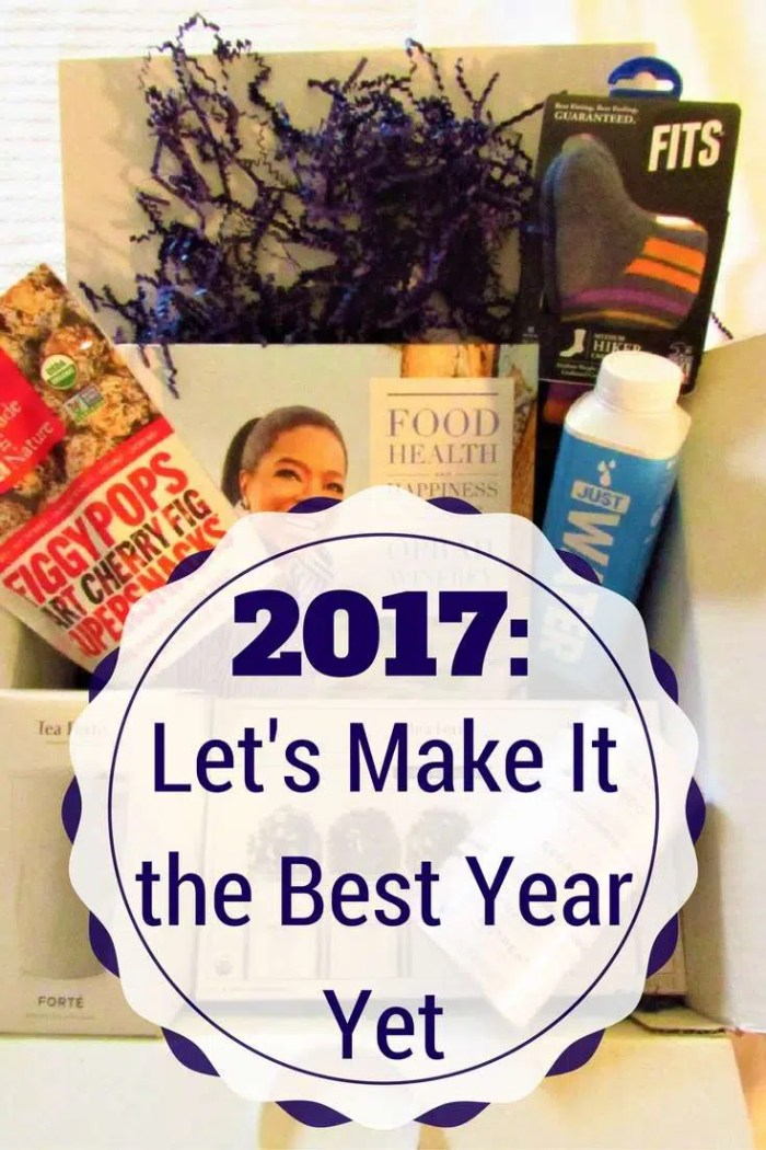 2017: Let's Make it the BEST Year Yet! With #BabbleboxxNewYear #Ad #foodhealthhappiness #foodasitshouldbe #JUSTwater #disruptdiscrimination #differentisequal