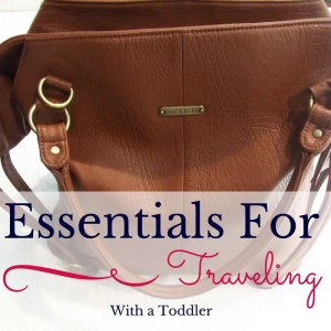 Essentials for Traveling With a Toddler...What You Need and Don't Need