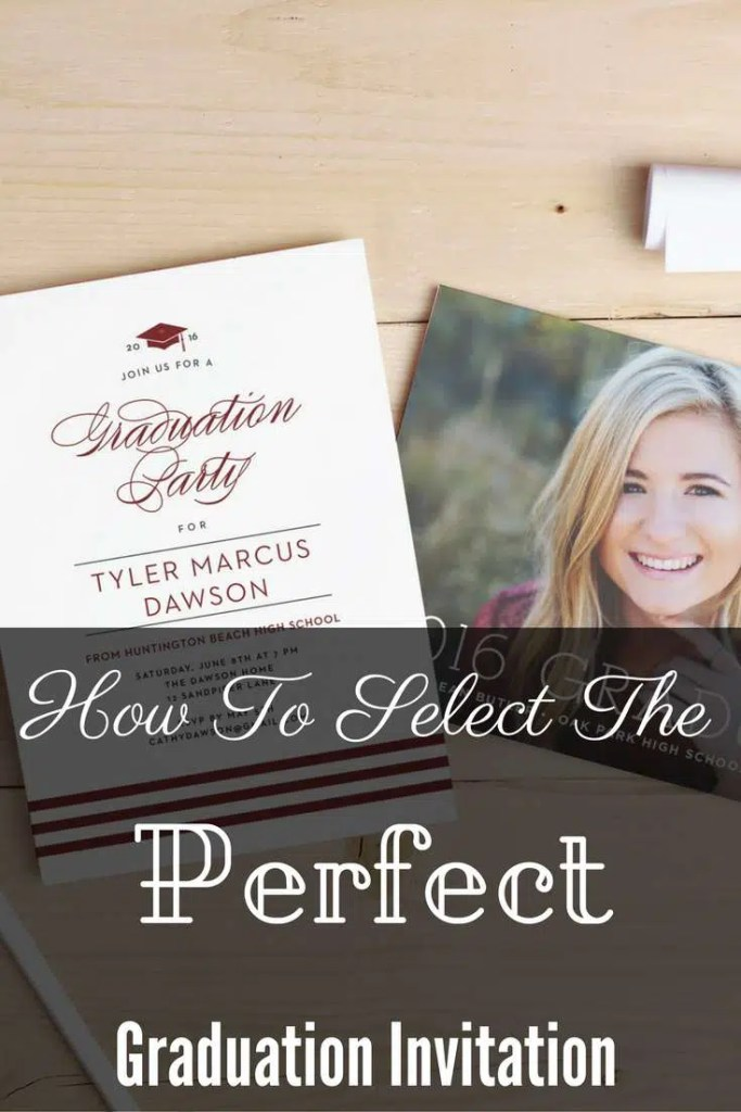 How to Select the Perfect Graduation Invitation #ad