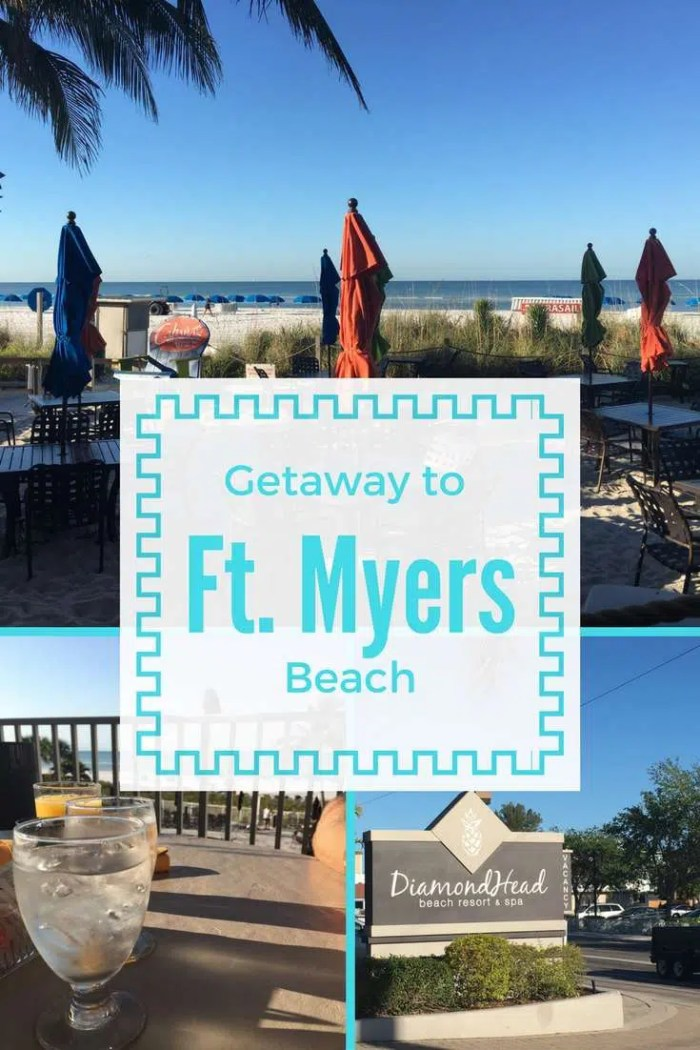 Ft. Myers Getaway | Florida Vacation | Family Vacation | Couples Getaway | Beach Getaway | Florida Beach | Ft. Myers | Ft. Myers Beach | Diamondhead Resort | Florida Beaches