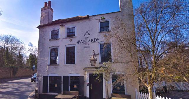 Spaniards Inn Pub in London
