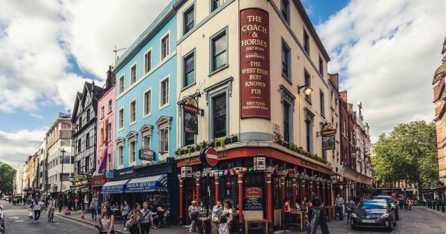Coach and Horses Pub in London