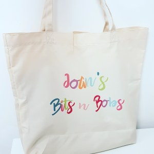 Personalised shopping bag
