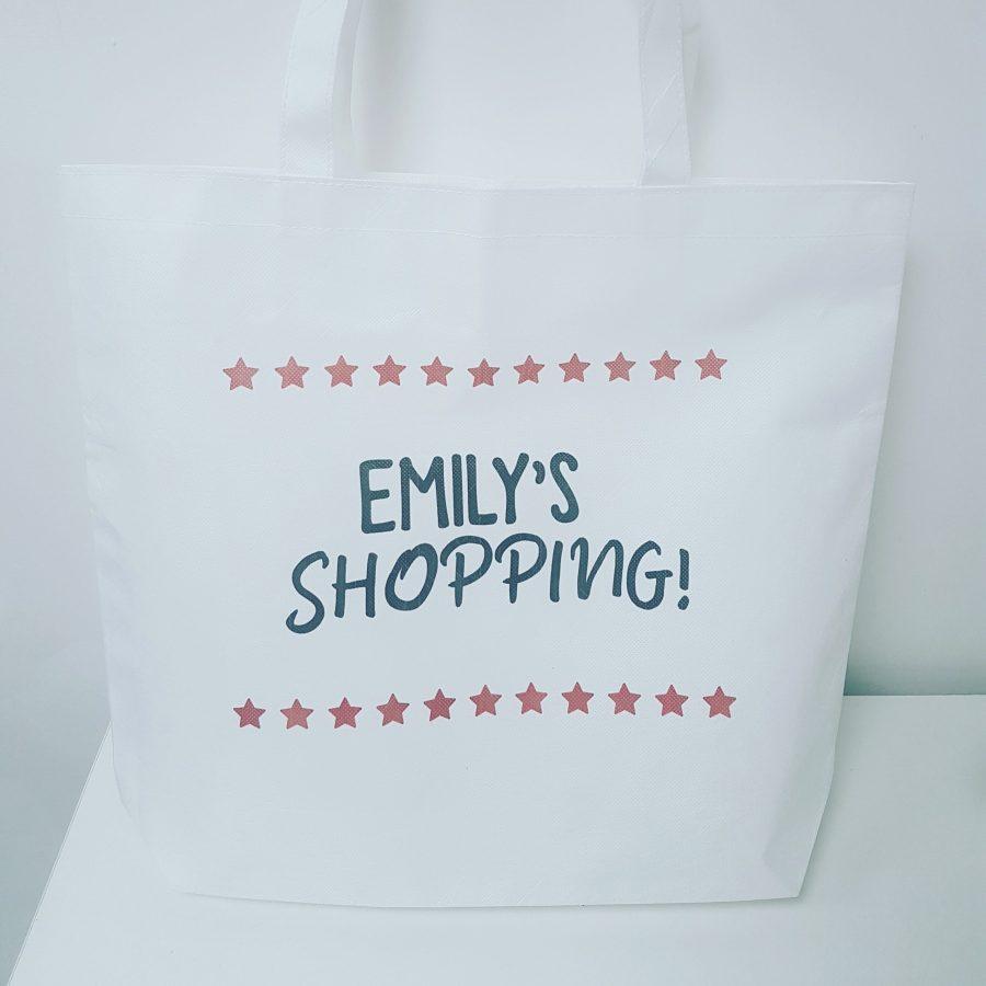 Personalised Shopping Bag
