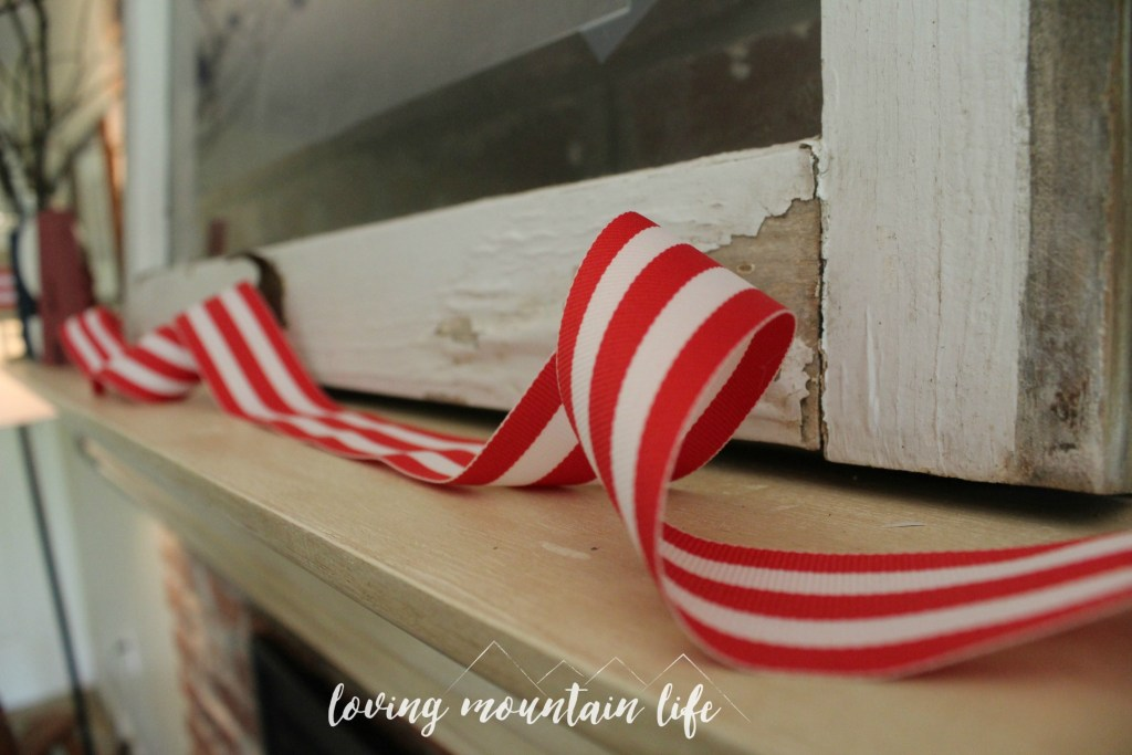 Easy Diy Patriotic Decor A Free Beautiful Printable Loving Mountain Life