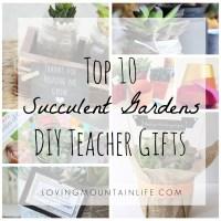 Top 10 DIY Succulent Gardens – Teacher Appreciation Gifts