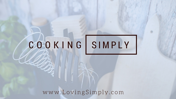 cooking simply