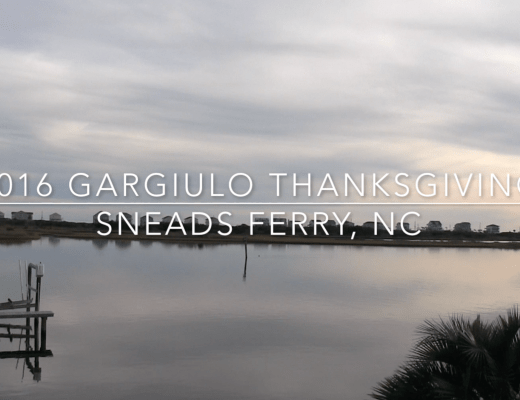 2016 Thanksgiving weekend sneads ferry