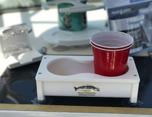 deep blue marine cup holder