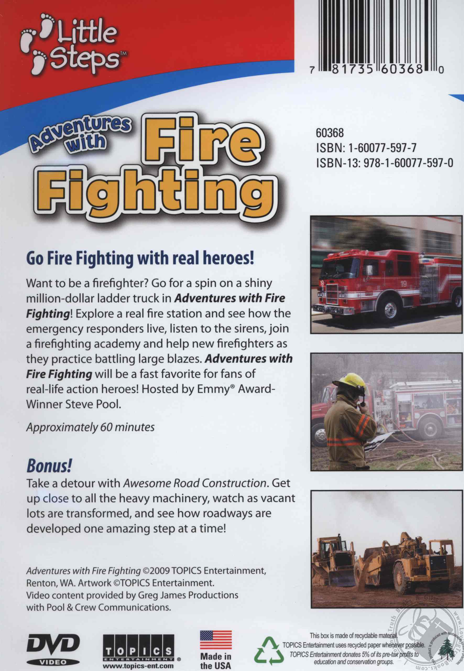 Little Steps Adventures with Firefighting with bonus