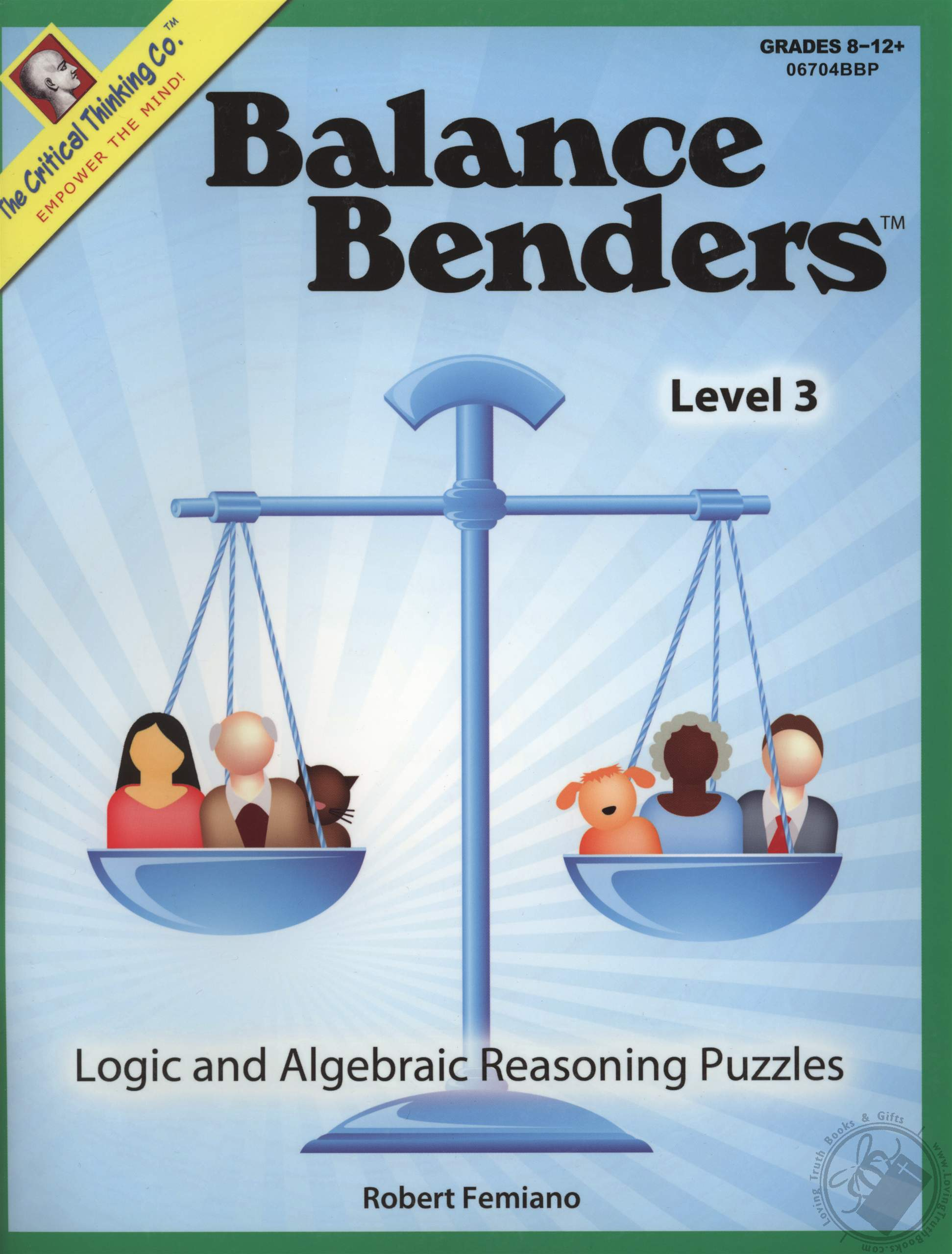 Balance Benders Level 3 Logic And Algebraic Reasoning