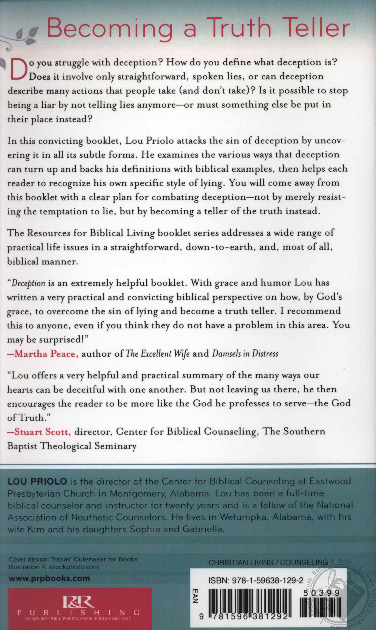 Deception Letting Go Of Lying Resources For Biblical
