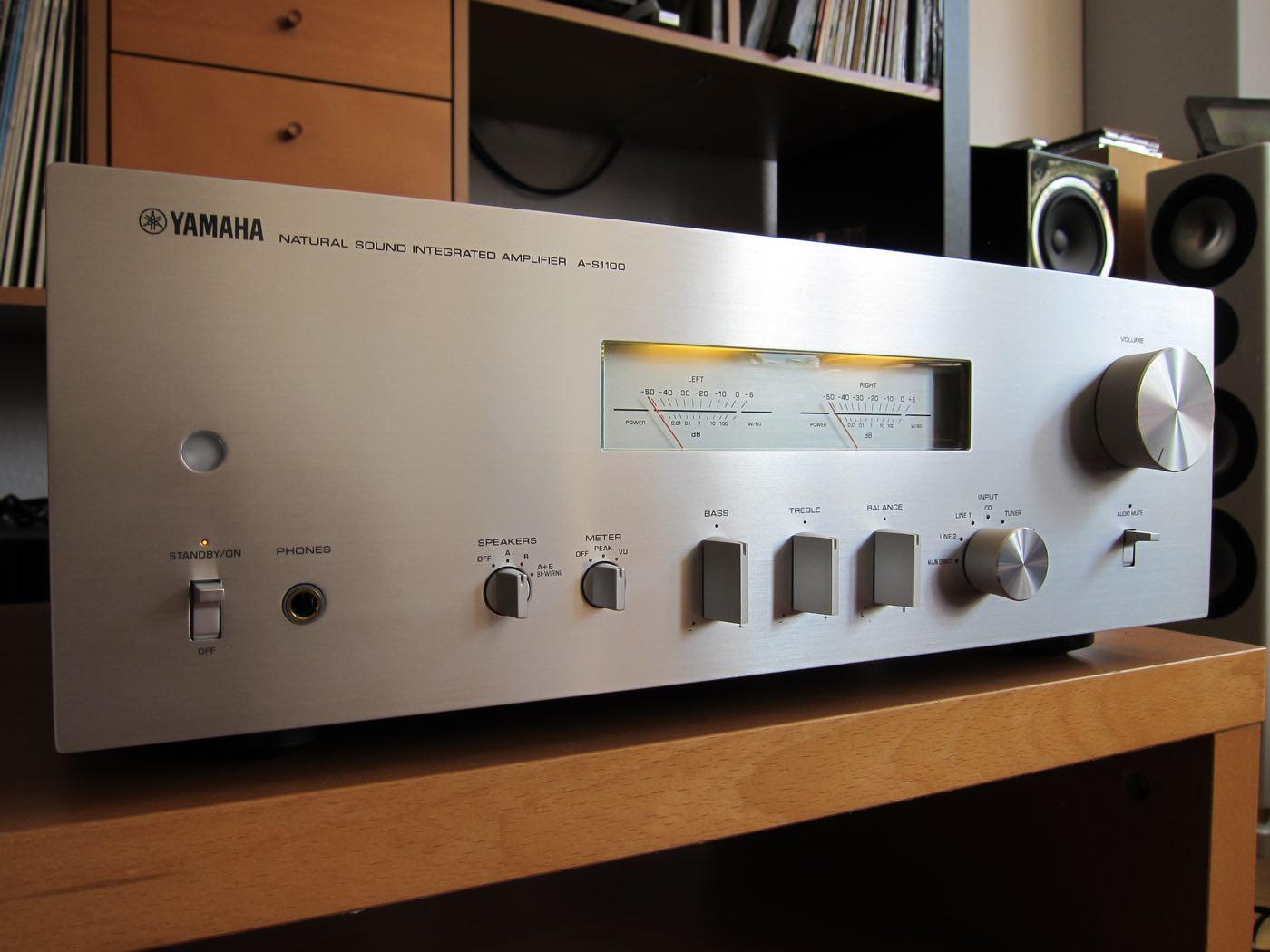 Test Vollverstrker Yamaha AS1100  LowBeats