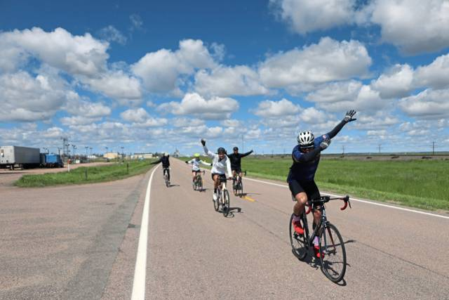 The Ride for Water 2019 team, which includes FR graduate Kara Ingersoll is riding nearly 3,500 miles across the U.S. to raise money to help supply clean water to those in need.