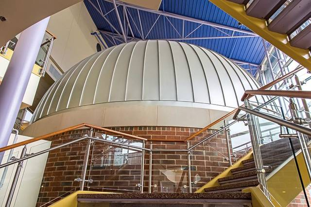 """Four spring shows, each including """"The Sky Above Mister Rogers; Neighborhood,"""" are scheduled in the planetarium at Saint Vincent College in Unity."""