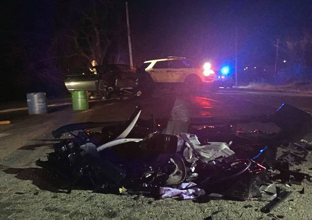 Two people were injured on Nov. 22, 2019, in a two-car crash on Saltsburg Road at Pfeffer Road in Washington Township.