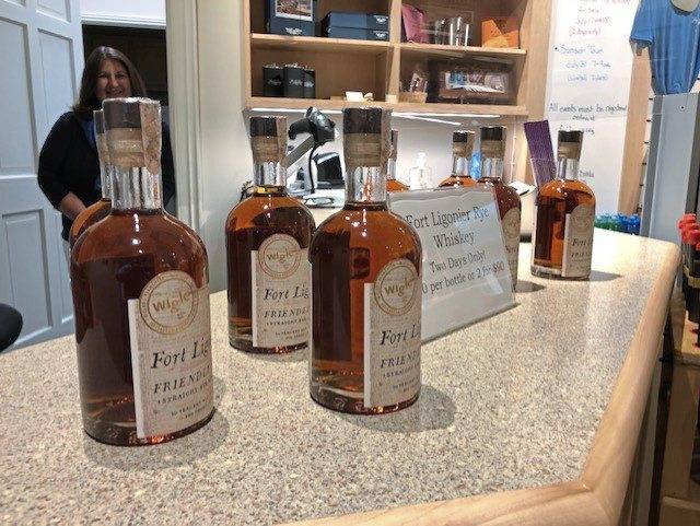 "A special sale of Fort Ligonier's ""Friendly Fire"" rye whiskey will be held as a fundraiser at the museum in Ligonier Friday and Saturday only. The special 100-proof whiskey was distilled by Pittsburgh's Wigle Distillery."