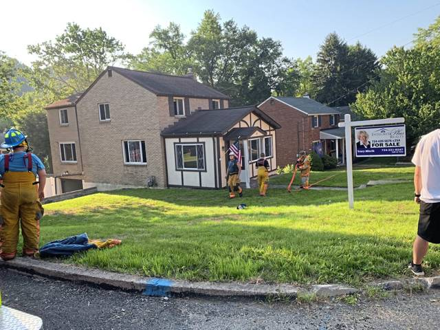 A fire was quickly extinguished Monday at a Greensburg house that was recently sold.