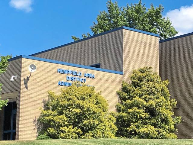 A high school assistant principal is temporarily filling a vacant position at the Hempfield central administration office.