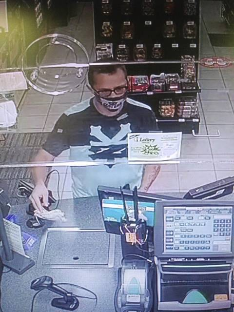 Delmont Police are seeking information about man who recently passed a counterfeit $20 at a Sunoco convenience store. Anyone with information is asked to telephone police at 724-468-8501.