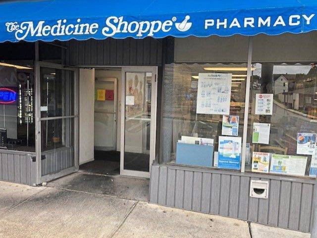 The Medicine Shoppe Pharmacy at the corner of Harrison Avenue and First Street in Jeannette.