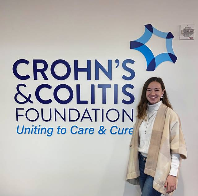 Rachel Stackiewicz, 20, of Murrysville, has been named to the Crohn's & Colitis Foundation's National Council of College Leaders, where she will advocate on behalf of those similarly afflicted with inflammatory bowel disease.