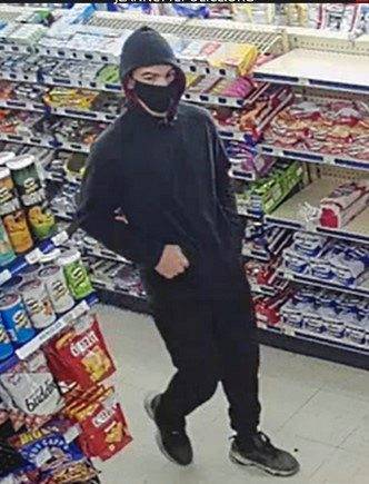 A surveillance image of a suspect in a robbery in Jeannette on Sept. 28 .
