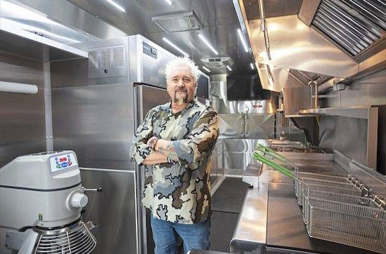 Guy Fieri is opening American Kitchen + Bar sometime this year at Live! Casino Pittsburgh in Hempfield.