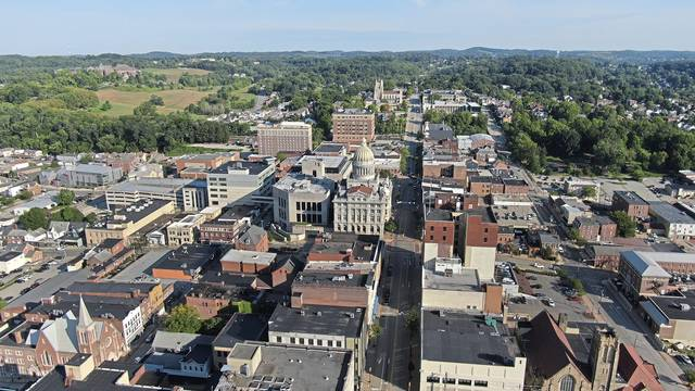 Greensburg is seen on Sept. 8, 2020.