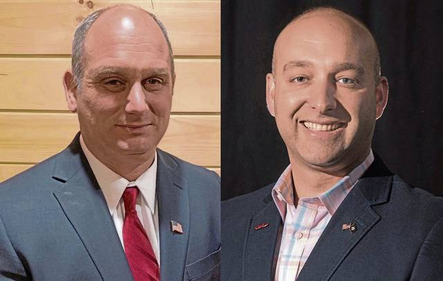 Republican Eric Davanzo (left) and Democrat Robert Prah Jr., candidates for the Pennsylvania State House in the 58th District