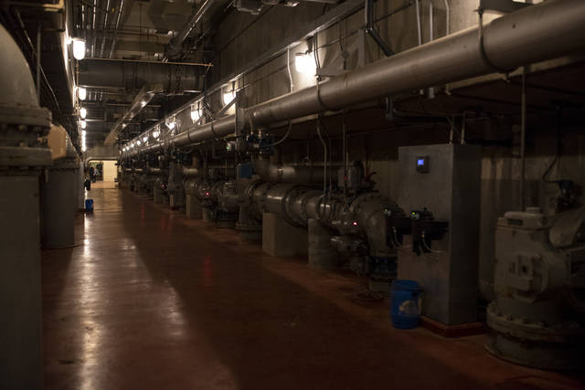 The Indian Creek Water Treatment Plant will undergo an $18 million expansion beginning next year.