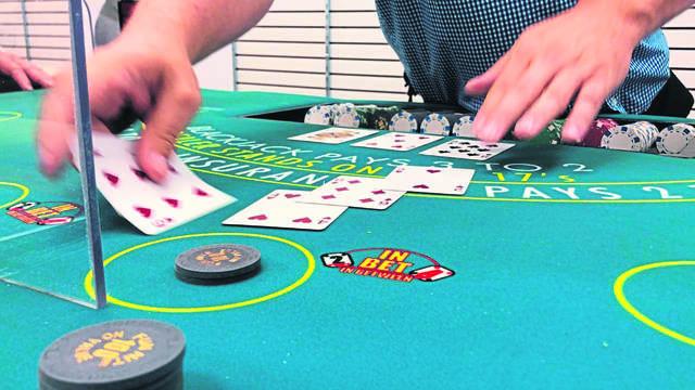 Live! Casino Dealer School in Westmoreland Mall.