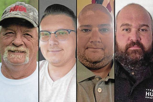 John Wilkinson, Braden Kraisinger, Kevin Hendrick and Alyn Hutter are running for Mt. Pleasant Township supervisor.