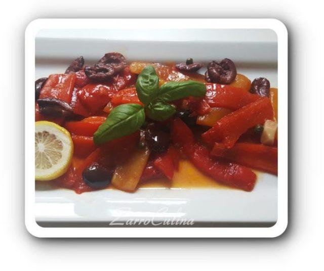 Italienisches Paprikagemüse
