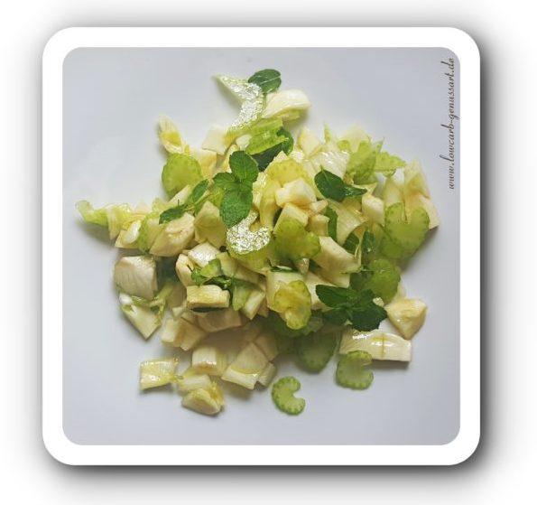 ♡ Fischer Salat aus Fenchel und Minze