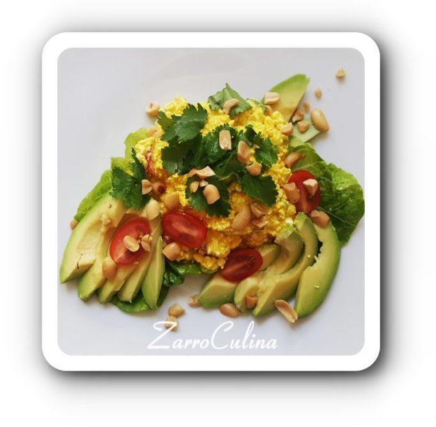 Körniger Frischkäse Salat orientalisch II