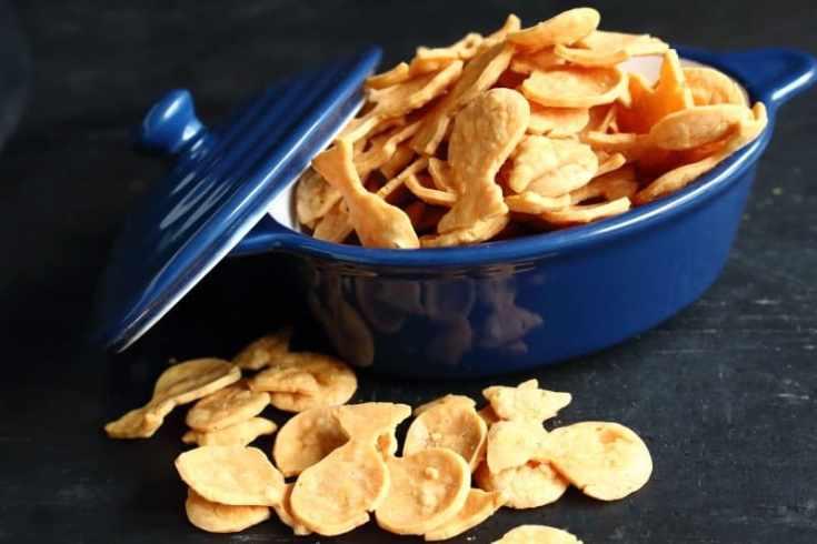 Low Carb Keto Goldfish Crackers