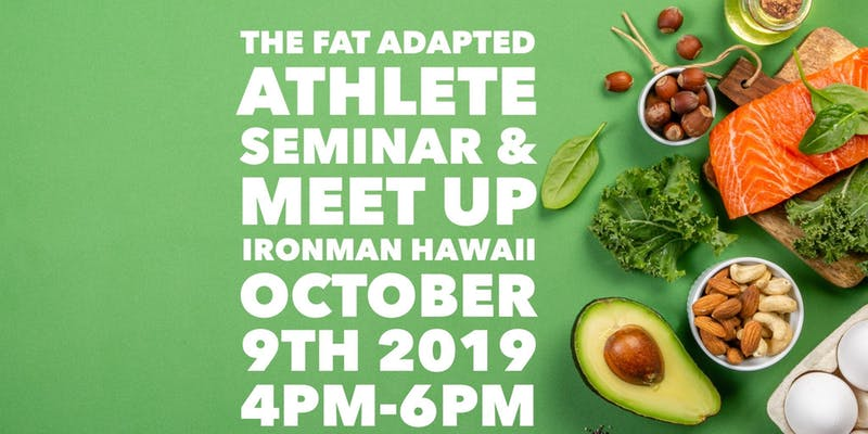 The Fat Adapted-Low Carb Athlete Meet Up