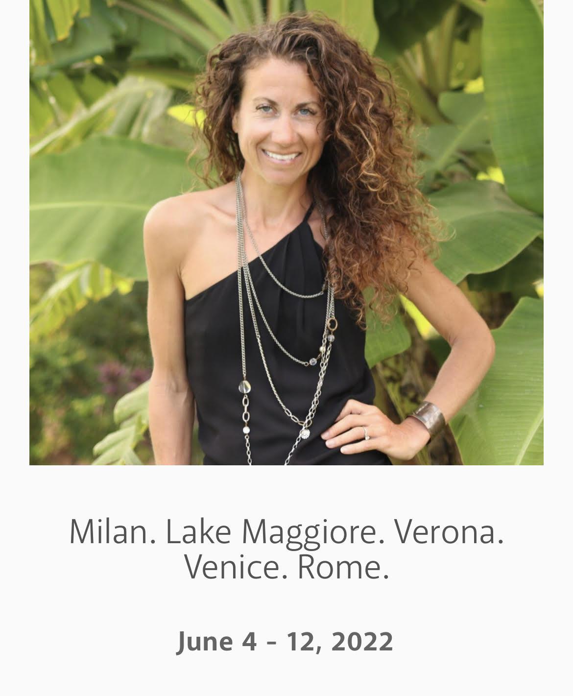 Italy with Maria