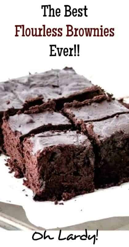 The Best Flourless Brownies Ever