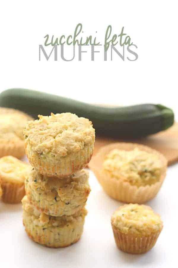 Savory Zucchini Feta Muffins