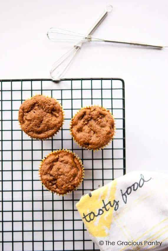 Clean Eating Butternut Squash & Apple Muffins